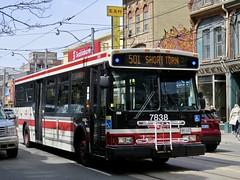 Toronto Transit Commission 7838 (YT | transport photography) Tags: ttc toronto orion vii 7 bus transit commission