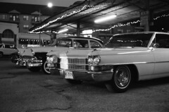 (bogdanmohora) Tags: streetphotography street hearse vintagecars classiccars classic vintage cars canon analog dark light shadows blackandwhite 35mmfilm 35mm film atx canonet tx texas austin