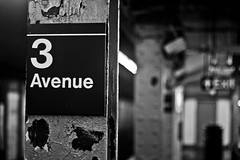 3rd Ave (Brother Christopher) Tags: blackandwhite monochrome monochromatic nyc bx thebronx uptown art artistry brotherchris creativity 24mm 50mm people places subway station underground explore
