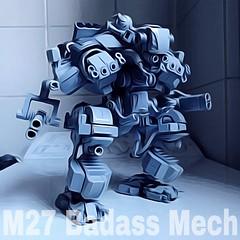 R&D M27 Badass Mech (Marco Marozzi) Tags: lego legodesign legomech mech mecha walker robot marco marozzi drone droid