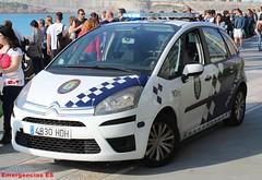 Policía Local A Coruña (emergenciases) Tags: policíalocal acoruña galicia policía pl playa vehículo emergencias 112 rescate citroen