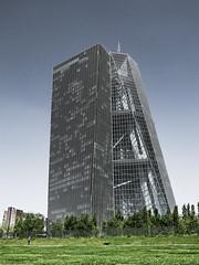 ECB (talkingvisual) Tags: frankfurt osthafen urban europeancentralbank money urbanlandscape fujix architecture