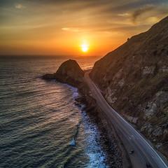 Point Mugu (Eric Zumstein) Tags: pointmugu malibu california unitedstates us ocean dji drone mavicpro sunset sky landscape seascape