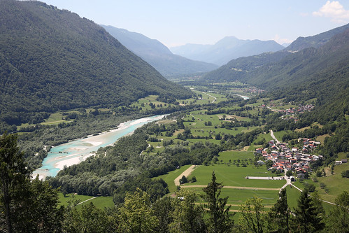 Valle del fiume Soča