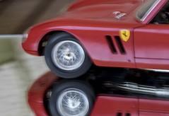 Ca roule...... (Elyane11) Tags: voiturette macromondays vitesselente roue reflet miroir jouet flou