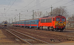 M41 2128 (lukacsmate18) Tags: m41 2128 418 128 ganzmávag mav hungary mávstart csörgő budapest train railway