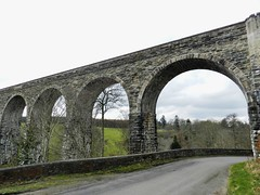 Divie Viaduct, Morayshire, April 2017 (allanmaciver) Tags: grantown forres dava moor walk way railway sturdy strong impressive arch stone james mitchell 1863 1965 moray morayshire allanmaciver viaduct