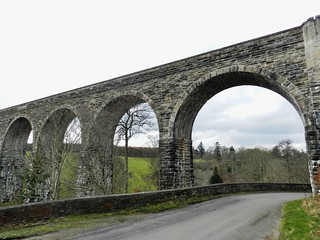 Divie Viaduct, Morayshire, April 2017
