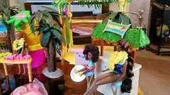 New toys for tropical dio (moonpiedumplin) Tags: hawaiianiceparty islandfunhut tahitibird hawaiianflowershopandtropicallagoonpitfirekitchenbarooakframeoutdoorscampcamper1976travelerstardioramascale16gazebowickercottagegrilllandscapelanaiporchdeckyardcourtyarddiymattelmansionfurniturebarbiespapoolrepaint pitfirekitchenbarooakframeoutdoorscampcamper1976travelerstardioramascale16gazebowickercottagegrilllandscapelanaiporchdeckyardcourtyarddiymattelmansionfurniturebarbiespapoolrepaintbackyarddreamhouse198080scustomredo pit fire kitchen bar ooak frame outdoors camp camper 1976 traveler star diorama scale 16 gazebo wicker cottage grill landscape lanai porch deck yard courtyard diy mattel mansion furniture barbie spa pool repaint backyard dream house 1980 80s custom redo ken doll outdoor patio littles hamburger steak picnic summer fun juicer
