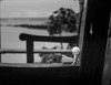 Lost (richardsolway) Tags: toy doll figure childs bench arm perranuthnoe cornwall blackandwhite lost