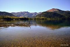 Enjoying the loneliness / Disfrutando la soledad (pepelara56) Tags: pesca pescador lago landscape fisherman mountain montañas patagonia nikon lara