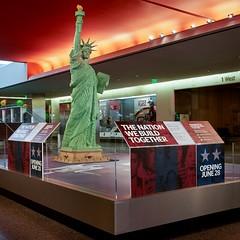 1 (national museum of american history) Tags: lego bricks statue liberty statueofliberty smithsonian nationalmuseumofamericanhistory