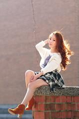 Lili1012 (Mike (JPG直出~ 這就是我的忍道XD)) Tags: lili 台灣大學 d300 model beauty 外拍 portrait 2014