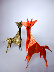 Giraffe (ayako kobayashi) Tags: origami toshikazukawasaki giraffe