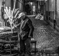 Where the streets have no name and people also (www.webphoto.gr) Tags: people blackandwhite cultures men market street marketvendor urbanscene selling city food store vendor outdoors travel old europe