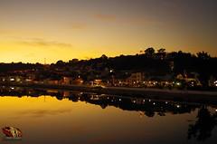 SUNSET#RIO#SORRAIA#CORUCHE#PORTUGAL (paulomarquesfotografia) Tags: sky sunset urban cidade rio river reflexo k5 pentax water colors lights