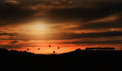Loons (Nickerzzzzz - Thanks for stopping by :)) Tags: ©nickudy nickerzzzzz theartofphotography wwwdigittaliacom canoneos70d efs1585mmf3556isusm virgin virginfiesta sky colour photograph cloud balloon silhouette bristolinternationalballoonfiesta 2016 landscape sunset