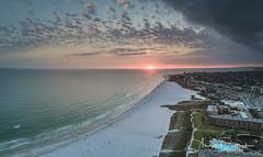 Sunset on Siesta Key Beach (andy_deitsch) Tags: dji florida mavic sarasota siestakey sunset aerialphotography beach gulfofmexico