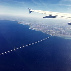 flying the blue dream i - ii (summer_57) Tags: flying water airplane blueplanet sweden oresund bridge aerial sky travel europe lonelyplanet travelphotography scandinavia