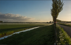 Just another sunrise over De Beemster...