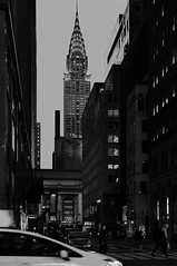 The Chrysler building (Towner Images) Tags: chrysler ny nyc us usa towner dusk city urban manhattan townerimages newyork bigapple america light lighting illumination building architecture street streetscape cityscape mono monotone monochrome monochromatic bw blackandwhite greyscale whiteandblack