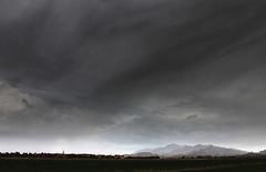 It's All Relative (BCooner) Tags: arizona goodyearaz sierraestrella clouds sky storm contrast distantmountains