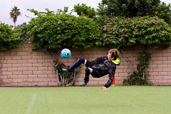 Boy Doing Flip Kick 4283 (casch52) Tags: football ball soccer sport game kick player goal flip leisure playing people young fun exercising tournament flipping summer action athlete foot play jump healthy outdoors field corner day soccerfield male child kid youth boy adventure