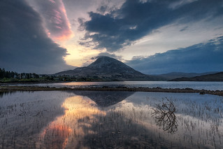 Sunrise Over Mount Errigal, County Donegal, Ireland