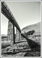 Allt Kinglass Illusion (Jim the Joker) Tags: alltkinglass viaduct horseshoecurve tyndrum bridgeoforchy light shadow illusion