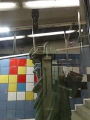 Haifa - wat staat daar in de metro??