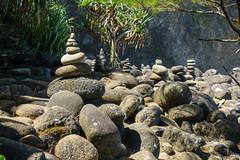 Kaui 236 DSC03744 (cpburt) Tags: kauai hawaii napalicoast kalalautrail hanakapiai beach stackedrocks
