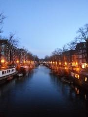 Winter evening on a canal (Louisa Mac) Tags: brouwersgracht sunset amsterdam