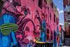 Here in the City... (Lune Shadows (Larry Williams)) Tags: adelaide backlane city streetart