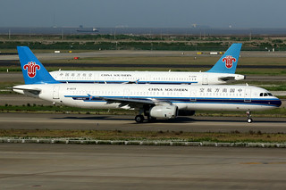 China Southern Airlines | Airbus A321-200 | B-6579 | Shanghai Pudong