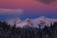 So Long Winter (PatrickDillonPhoto.com) Tags: mountains needles sunset beltofvenus snow winter peaks colorado landscapephotography trees weather sky creation god wonders