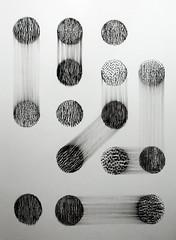 cholerae III (Kaja Utkowska) Tags: drawing rysunek raster cirle cirles art statetic dynamic composition bw