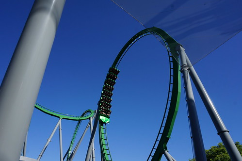 "Universal Studios, Florida: Incredible Hulk Coaster Loop • <a style=""font-size:0.8em;"" href=""http://www.flickr.com/photos/28558260@N04/34587911452/"" target=""_blank"">View on Flickr</a>"