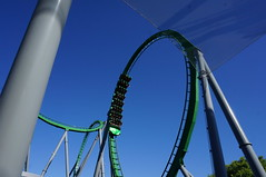 """Universal Studios, Florida: Incredible Hulk Coaster Loop • <a style=""""font-size:0.8em;"""" href=""""http://www.flickr.com/photos/28558260@N04/34587911452/"""" target=""""_blank"""">View on Flickr</a>"""