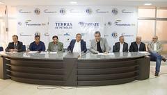 Michelson Frota, presidente do Sindicato do Comércio Varejista de Mossoró, representou o presidente Marcelo Queiroz no evento
