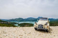 White Car 01 (haddadzakaria) Tags: algeria cloudy day jijel landscape spring water green car travel