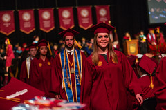 2017 Commencement Ceremonies: College of Arts & Sciences and Institute of Environmental Sustainability (Loyola University Chicago) Tags: cas pm ies commencement ceremony classof2017 gentilearena spe1701 commencementceremonies events lsc
