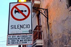El buen conductor (Gaby Fil Φ) Tags: ayacucho departamentoayacucho perú ciudadescolonialesdeaméricalatina sudamérica carteles señales señalética
