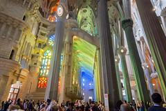 Sagrada Familia. Barcelona, Spain (sklachkov) Tags: spain barcelona gaudi architecture sagradafamilia