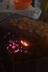 EPSN2357 (nSeika) Tags: chicken grill charcoal food foodstand 祭 jakartaennichisai blokm melawai