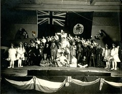 HC01052 (Community Archives of Belleville & Hastings County) Tags: 1910s costumes churches canada johnbull unclesam entertainment performances racism patriotic performance