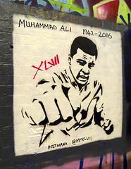 Graffiti in Leake Street 06-16 (17) - Muhammad Ali (geoffKR) Tags: graffti london muhammadali