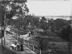 In the grounds, Taronga Zoological Park (State Library of New South Wales collection) Tags: statelibraryofnewsouthwales sydney harbour views zoos taronga architecture buildings
