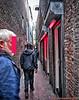 Red Light District, De Wallen, Amsterdam (PhotosToArtByMike) Tags: redlightdistrict amsterdam dewallen netherlands prostitutes sex sexual oudezijdsvoorburgwal redlight sexshops dutch holland centrum narrowstreets alleys centrecity oldcentre oudekerk