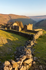 A Cracking Spot (matrobinsonphoto) Tags: crackpot hall swaledale yorkshire dales national park keld north countryside landscape abandoned drystone dry stone wall leading lead line valley muker northern outdoors rural farm barn sunset sunlight sun light golden hour evening summer spring hills hill kisdon building