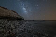 Fuwairat Qatar (zai Qtr) Tags: zaiqtr qatar fuwairitbeach sky milkyway water sea stones nightphotography gcc ksa usa starts outdoor doha